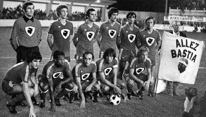 Bastia Coppa Uefa Johnny Rep