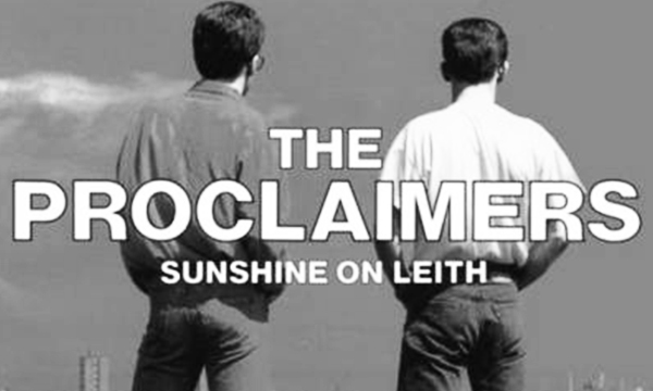 The Proclaimers Sunshine on Leith Edimburgo Edinburgh Hibernian