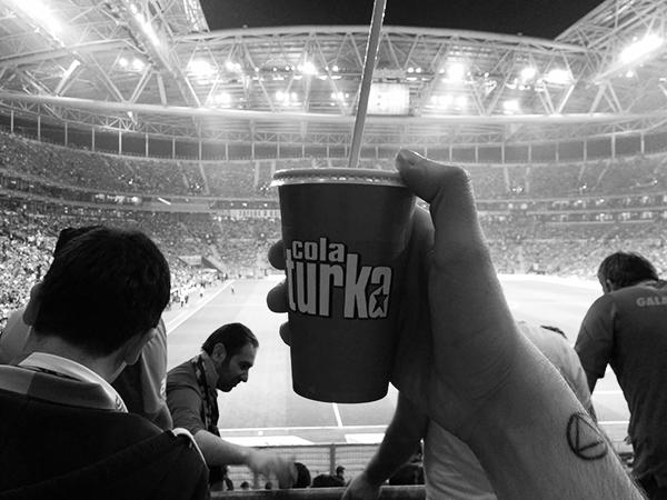 #BegbieOnTour Begbie Galatasaray-Genclerbirligi Ali SamiYen Turk Telekom Arena Istanbul Turchia Ultraslan Sneijder