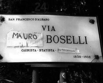 Via Mauro Boselli Genova Genoa Sampdoria