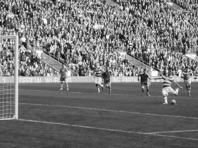 Un giorno a Celtic Park Glasgow Leigh Griffiths