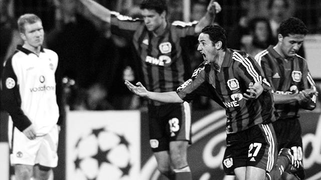 Oliver Neuville Bayer Leverkusen Neverkusen Manchester United