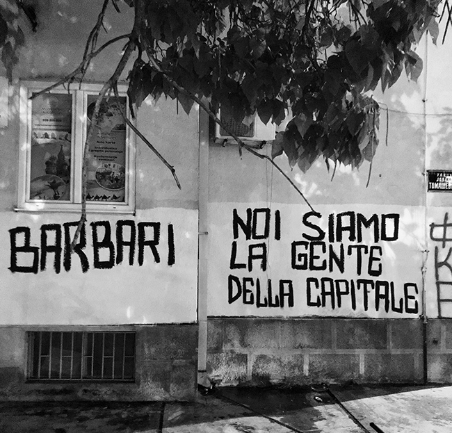 "#BegbieOnTour ep. 19 - Urlare ""Tzigani!"" allo stadio del Partizan Belgrado Barbari Podgorica Buducnost"