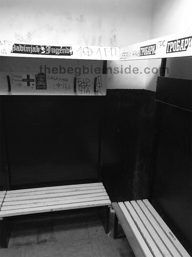 "#BegbieOnTour ep. 19 - Urlare ""Tzigani!"" allo stadio del Partizan Belgrado spogliatoio"